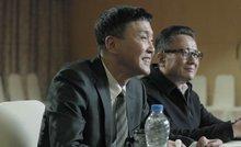 剧中京州市市委书记李达康(左1)