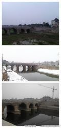 不同季节的云溪桥