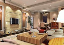 装有家用中央空调的居室