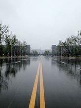 雨后的校園