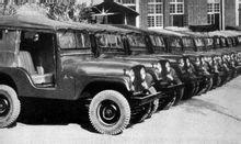 1957年,中国第一辆吉普车在长安诞生