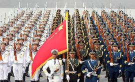 中国阅兵女兵_中国人民解放军陆海空三军仪仗队_360百科