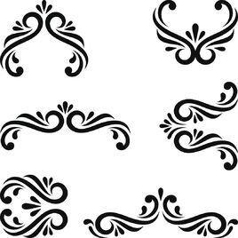 u88c5 u9970 u56fe u6848 360 u767e u79d1 floral border illustrator vectors floral border vector image