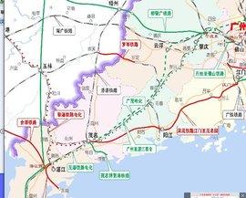 安九高铁路线_广湛高铁_360百科