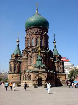 圣索菲亚教堂_哈尔滨索菲亚教堂_360百科