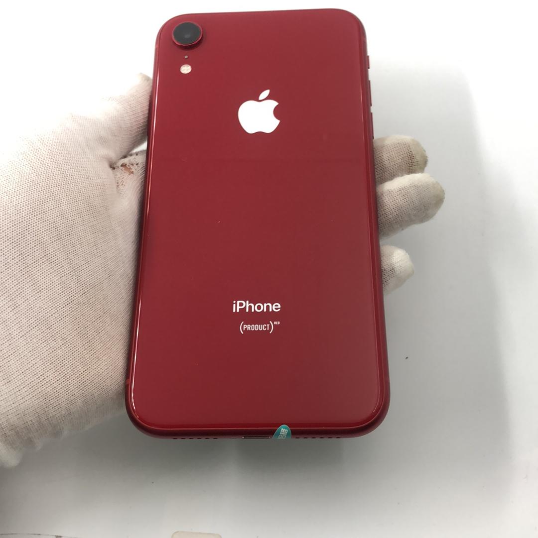 苹果【iPhone XR】4G全网通 红色 128G 国行 99新