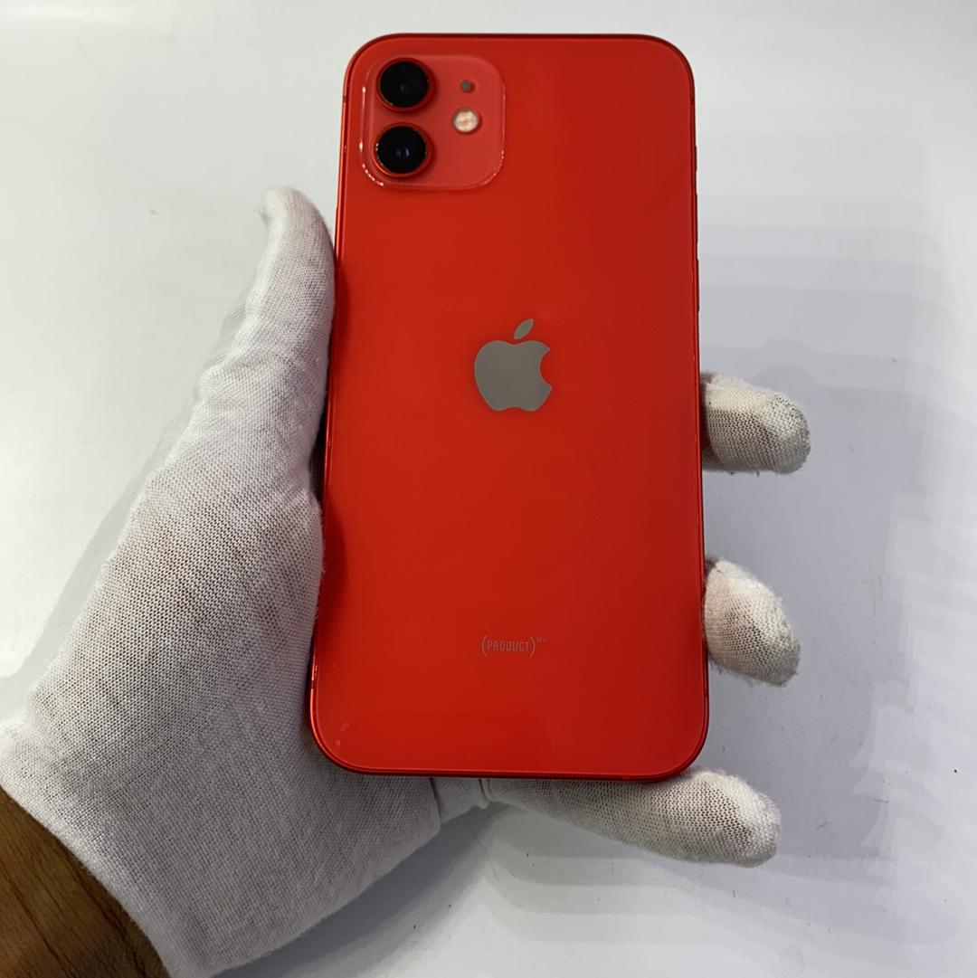 苹果【iPhone 12】5G全网通 红色 128G 国行 95新