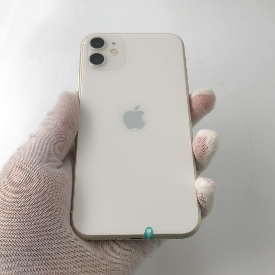 苹果【iPhone 11】4G全网通 白色 128G 国行 99新