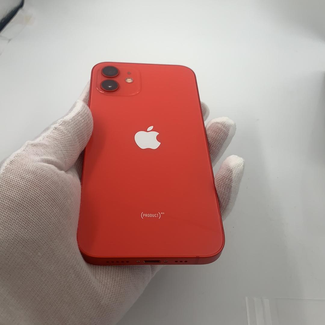 苹果【iPhone 12】5G全网通 红色 256G 国行 9成新