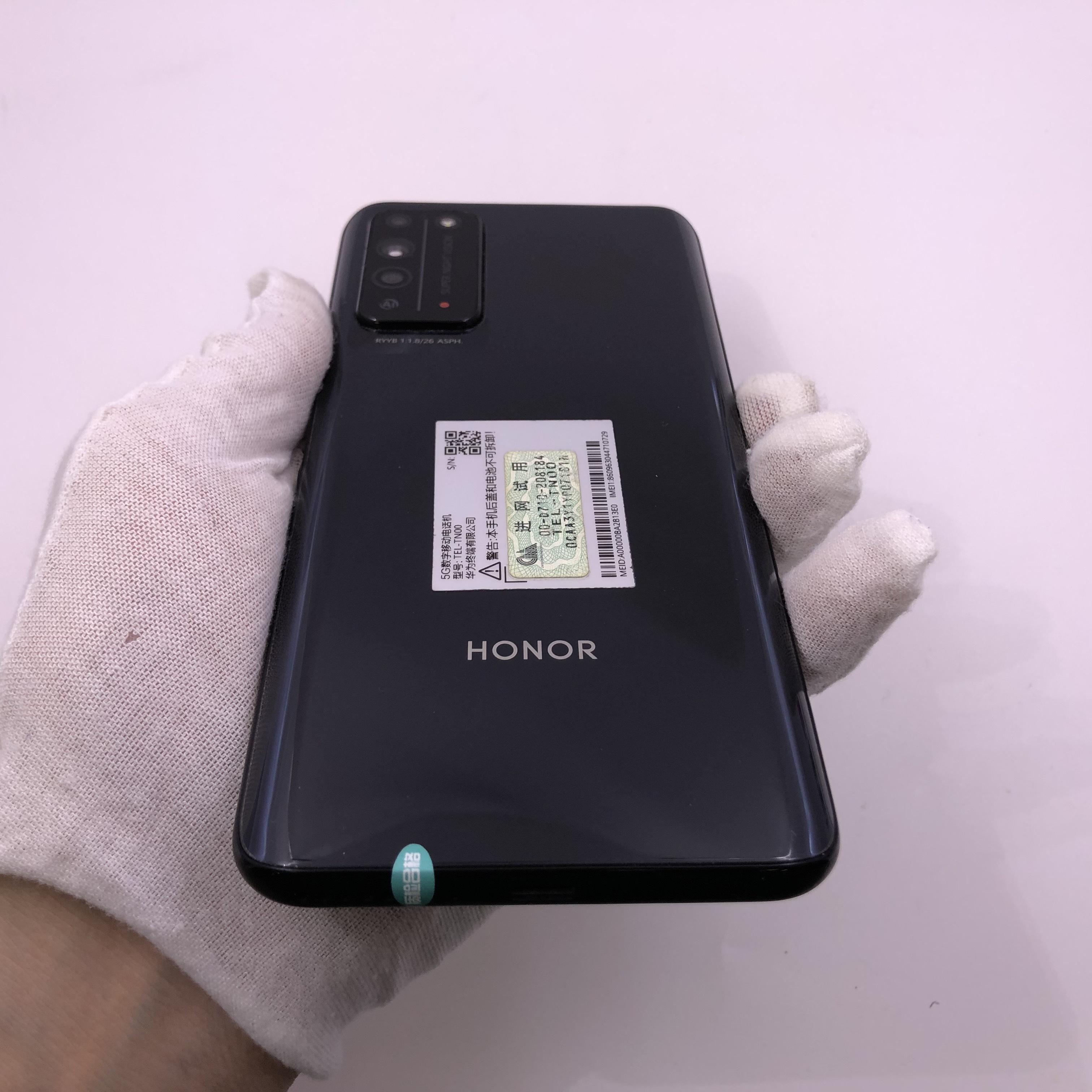 荣耀【荣耀 X10 5G】5G全网通 探速黑 6G/128G 国行 95新