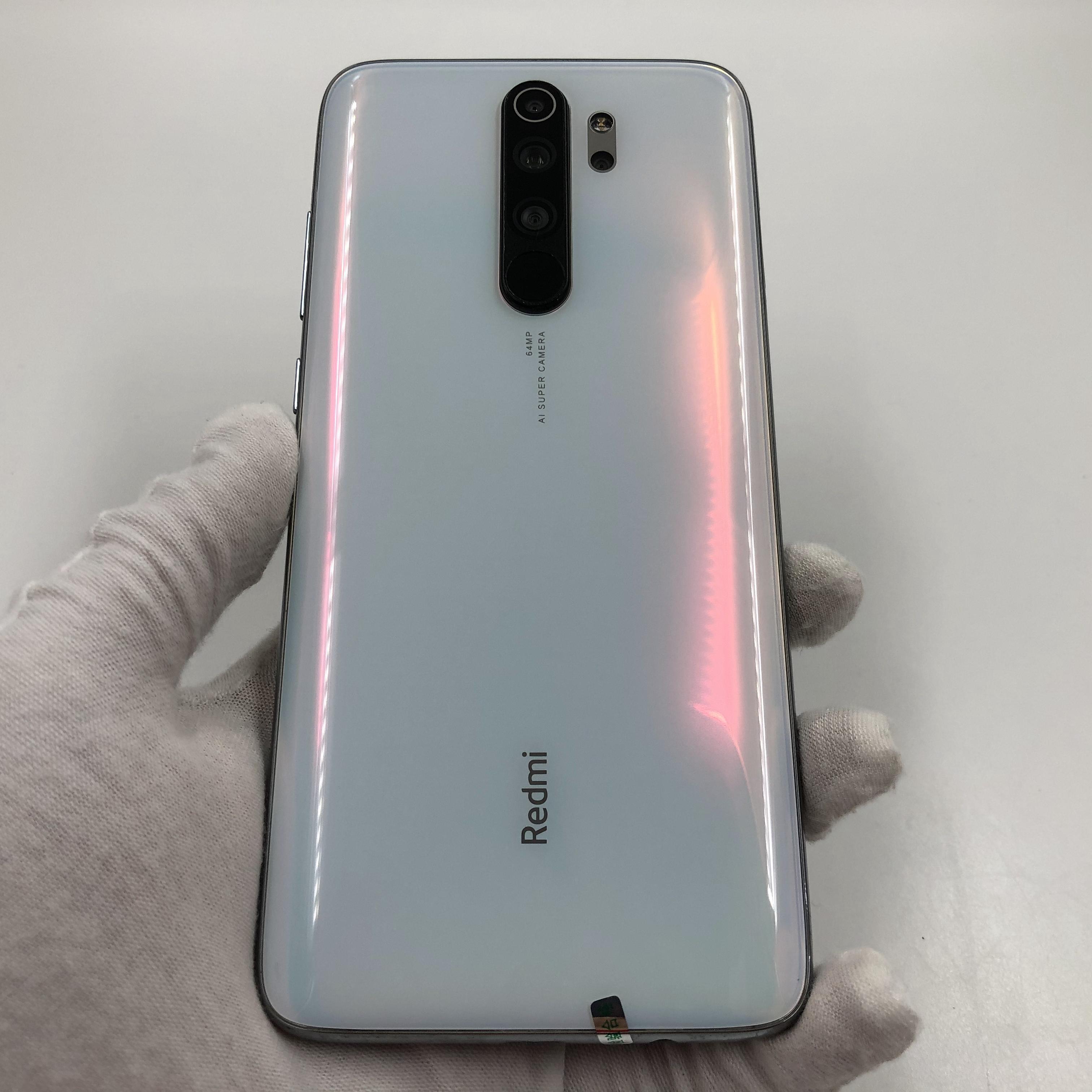 小米【Redmi Note 8 Pro】4G全网通 贝母白 8G/128G 国行 95新 真机实拍