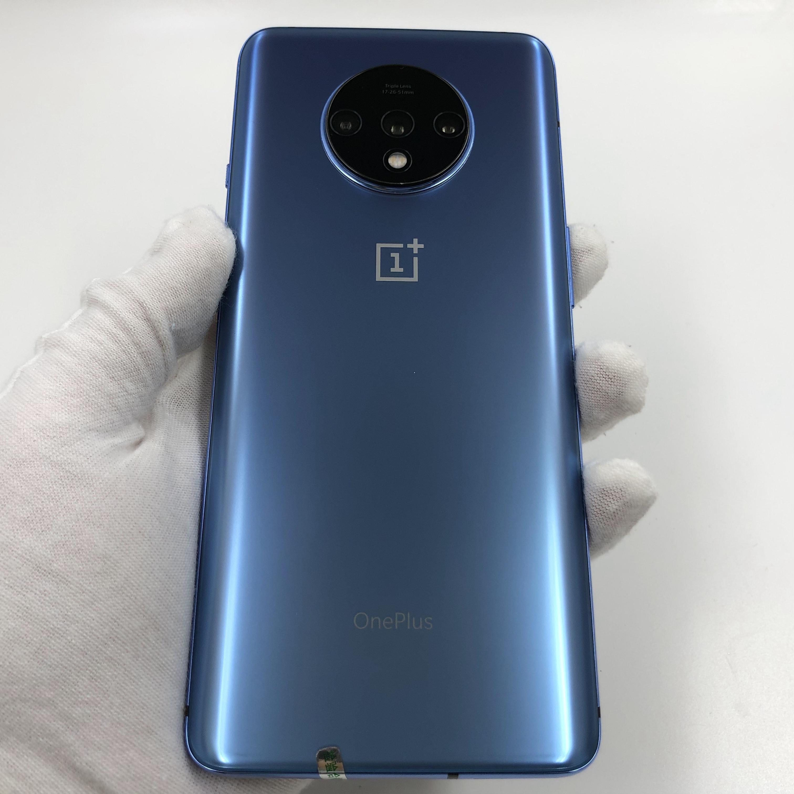 一加【一加 7T】4G全网通 蓝色 8G/128G 国行 95新 真机实拍