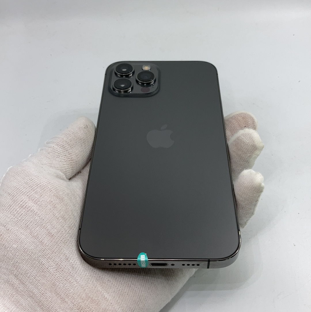 苹果【iPhone 12 Pro Max】5G全网通 石墨色 128G 国行 95新