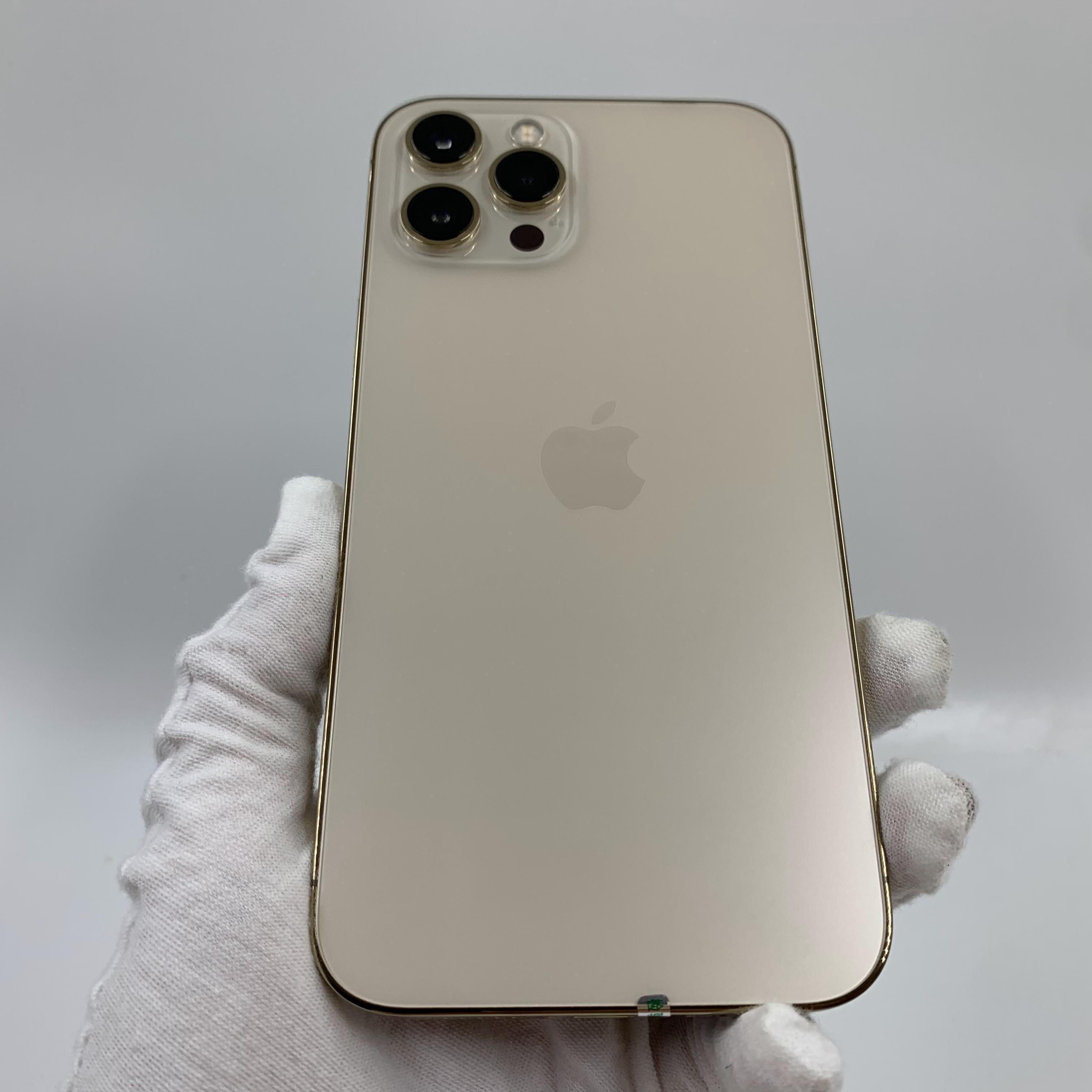 苹果【iPhone 12 Pro Max】5G全网通 金色 512G 国行 95新 真机实拍官保2022-02-07