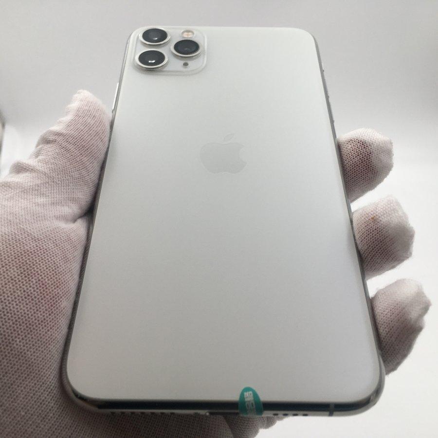 苹果【iPhone 11 Pro Max】4G全网通 银色 64G 国行 95新