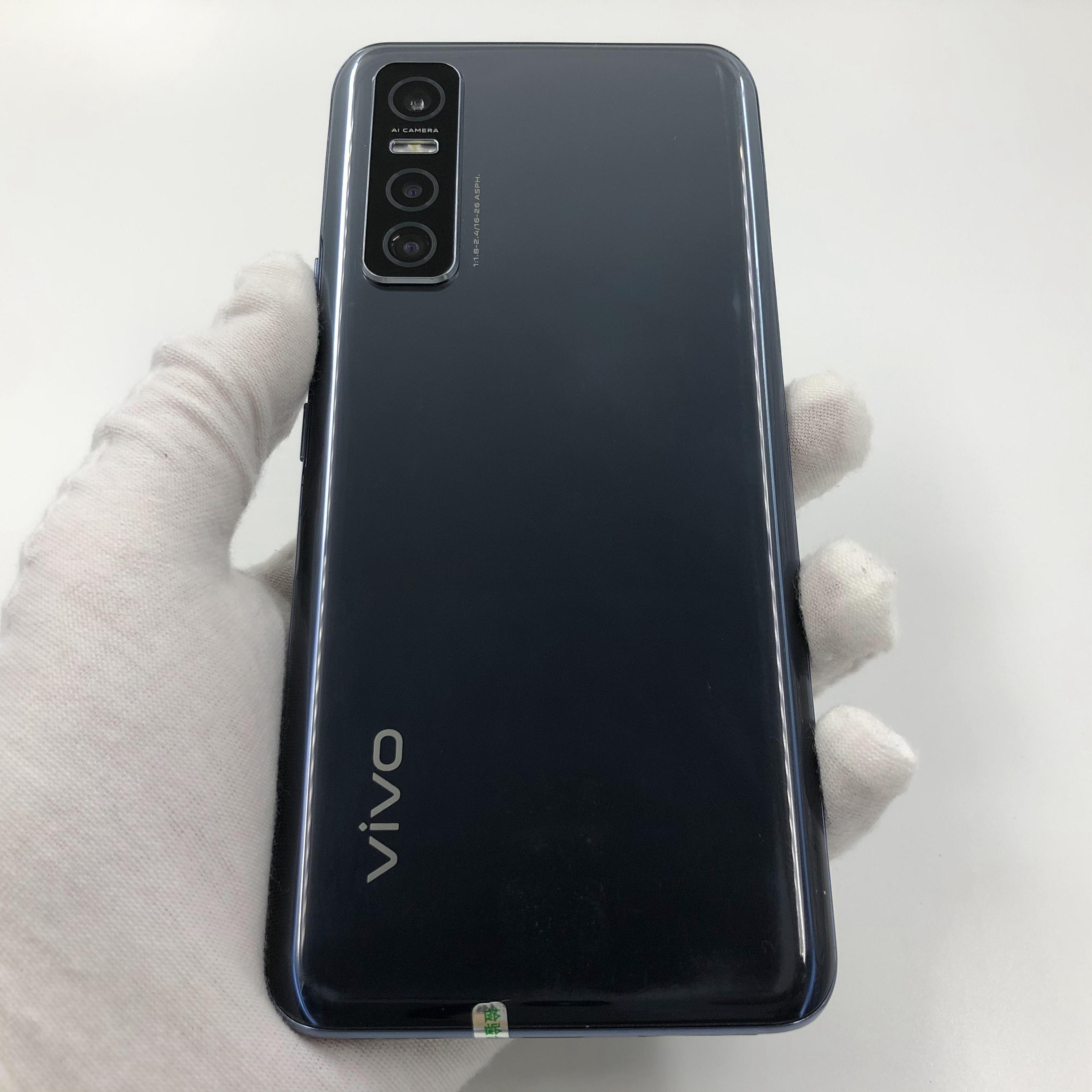 vivo【Y73s】5G全网通 黑镜 8G/128G 国行 95新 真机实拍原包装盒+配件