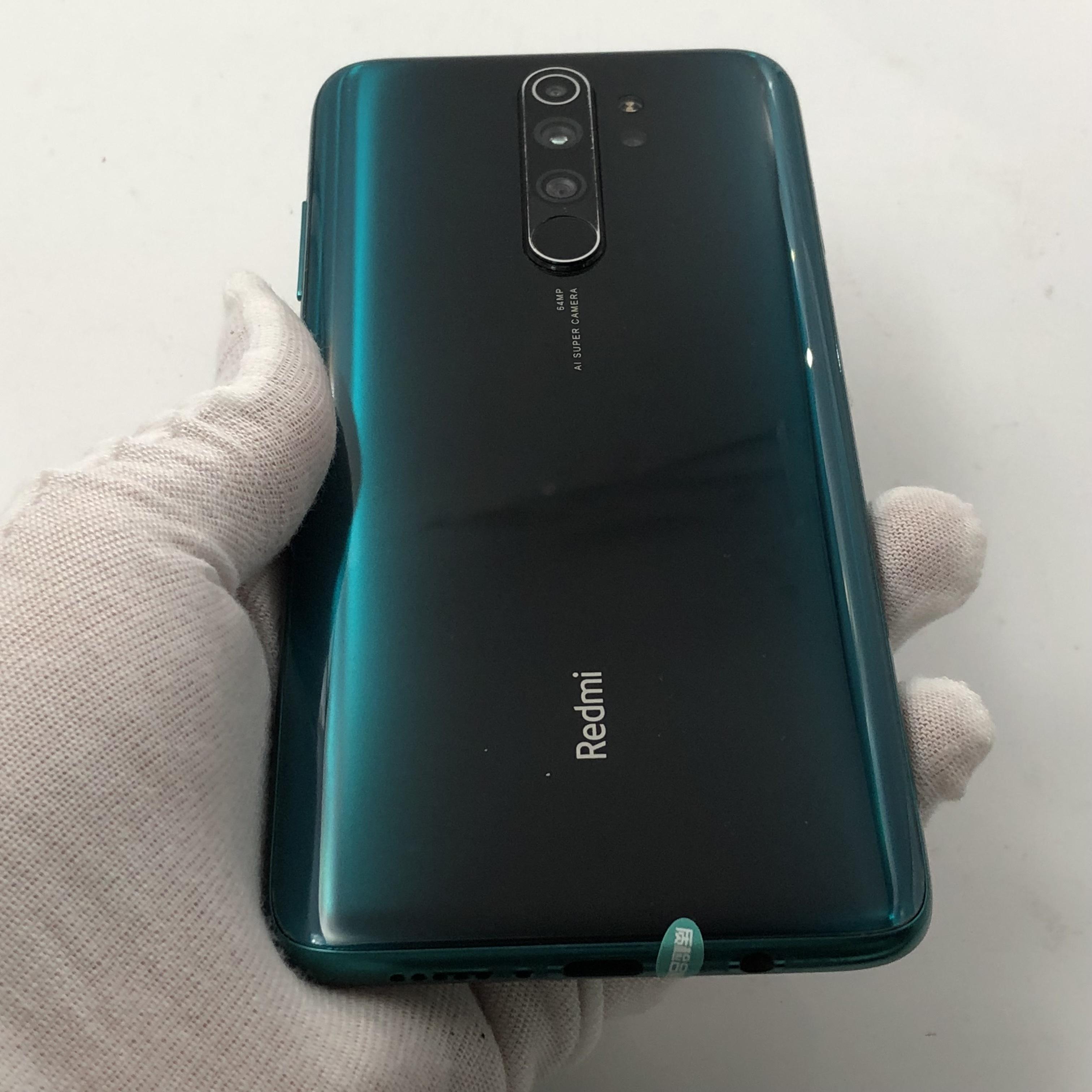 小米【Redmi Note 8 Pro】4G全网通 冰翡翠 8G/128G 国行 8成新