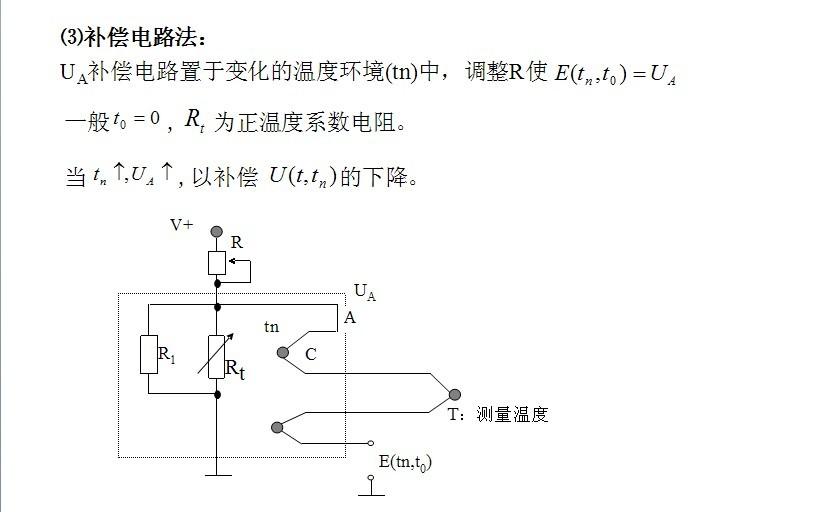 温度校正系数_热电式传感器_360百科