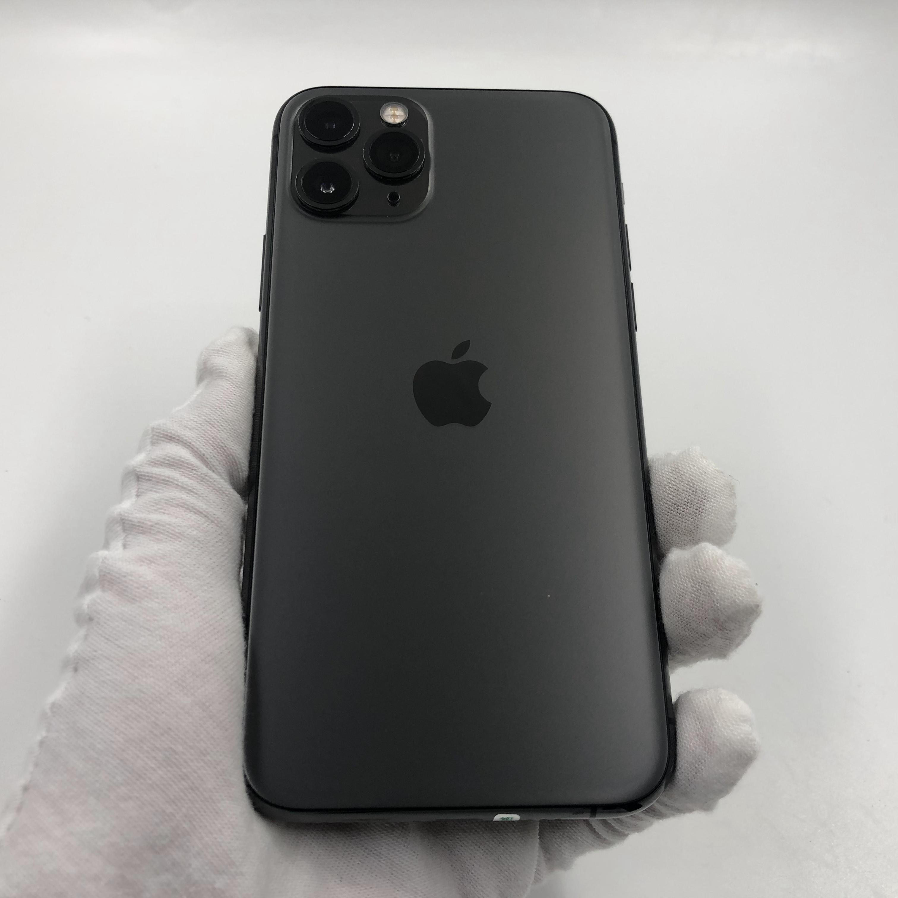 苹果【iPhone 11 Pro】4G全网通 深空灰 256G 国行 9成新 真机实拍