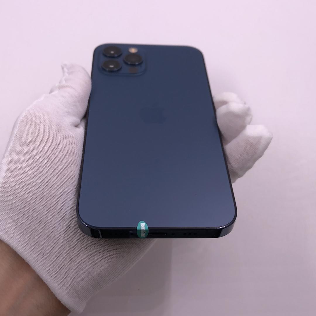 苹果【iPhone 12 Pro】5G全网通 海蓝色 512G 国行 95新