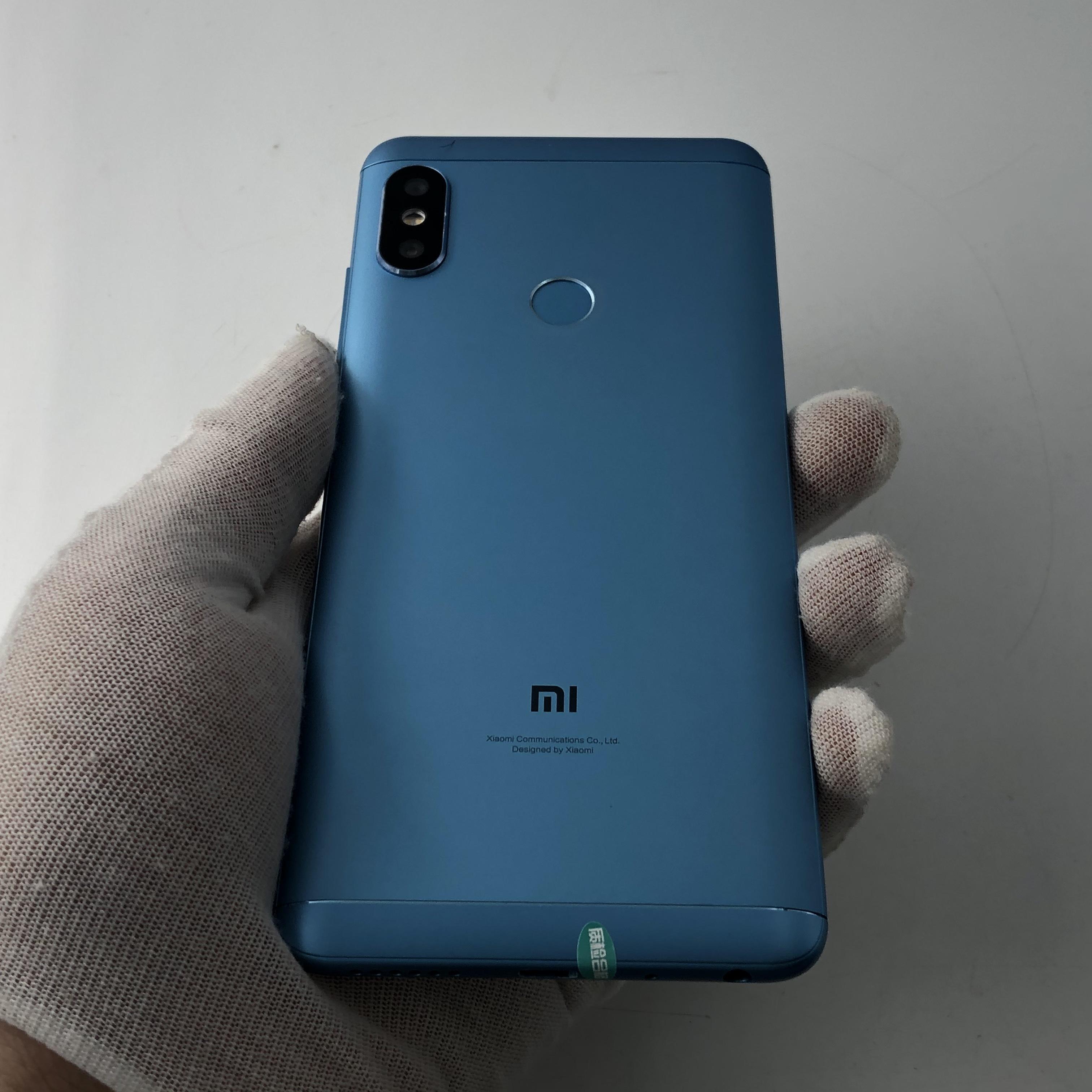 小米【红米Note5】4G全网通 蓝色 6G/64G 国行 95新