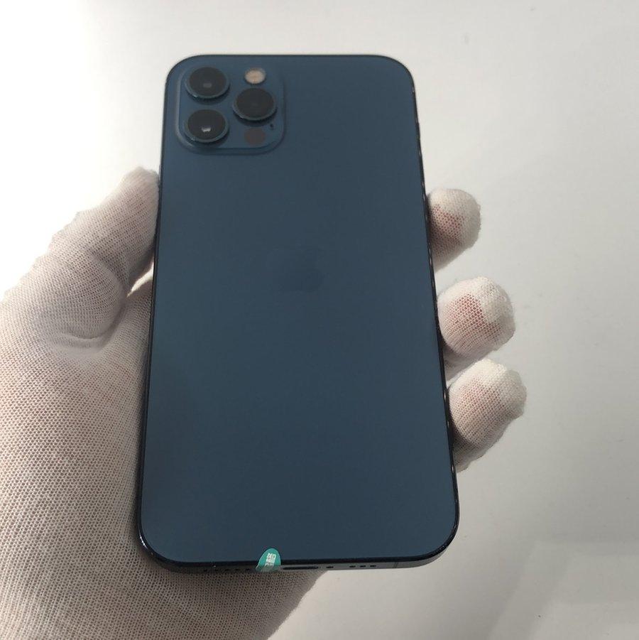 苹果【iPhone 12 Pro】5G全网通 海蓝色 128G 国际版 95新