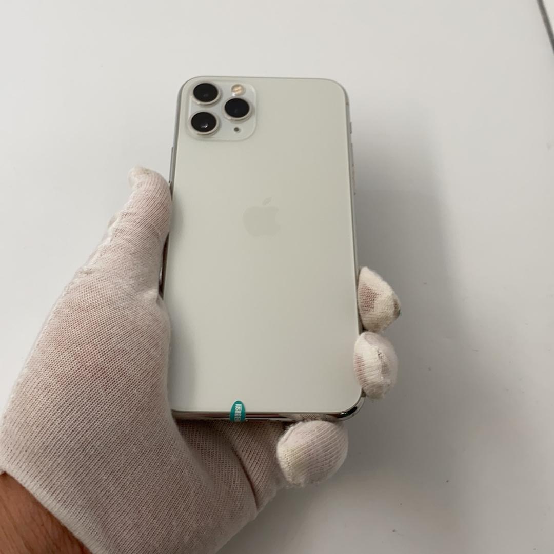 苹果【iPhone 11 Pro】4G全网通 银色 64G 国行 8成新