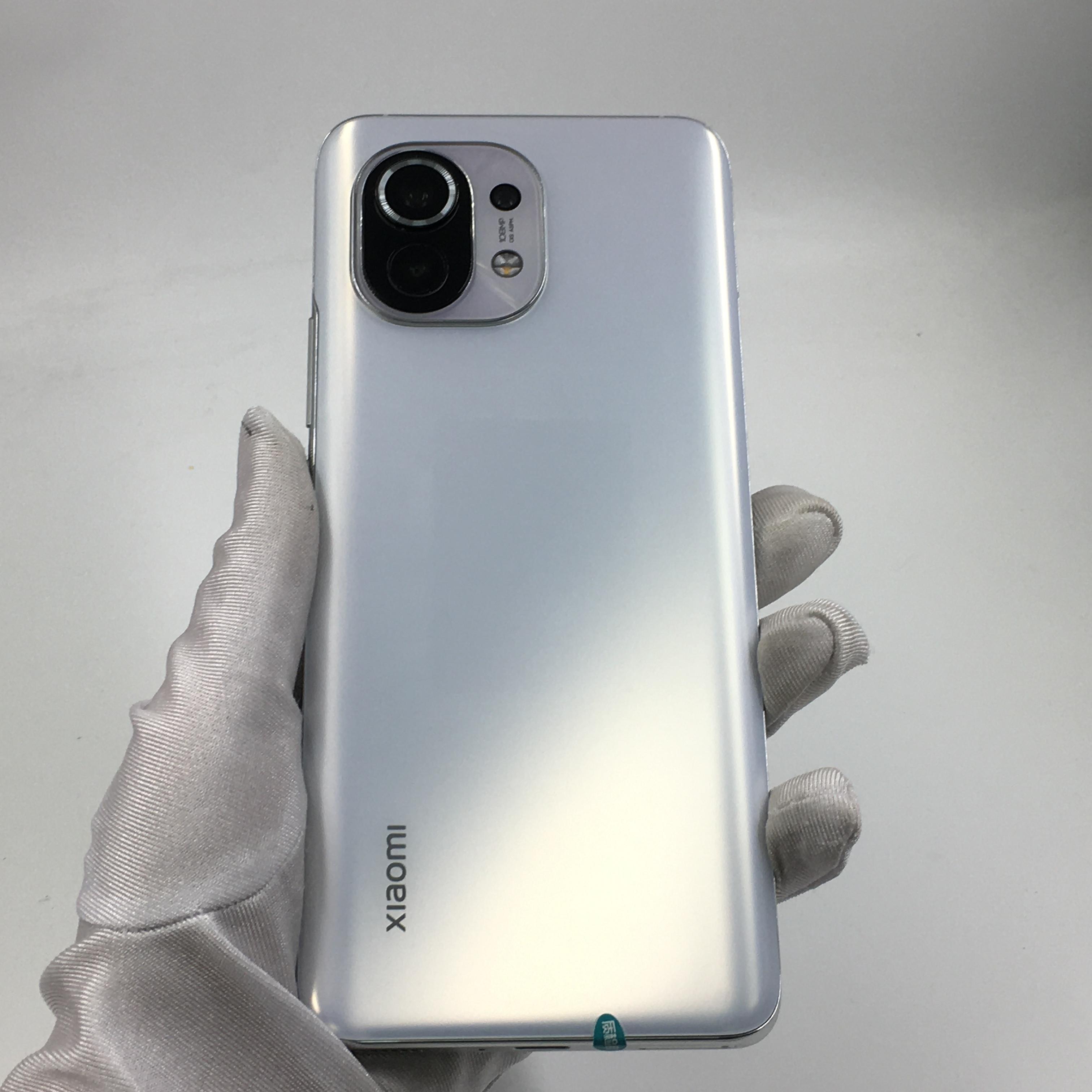 小米【小米11 5G】5G全网通 白色 8G/256G 国行 99新 8G/256G真机实拍