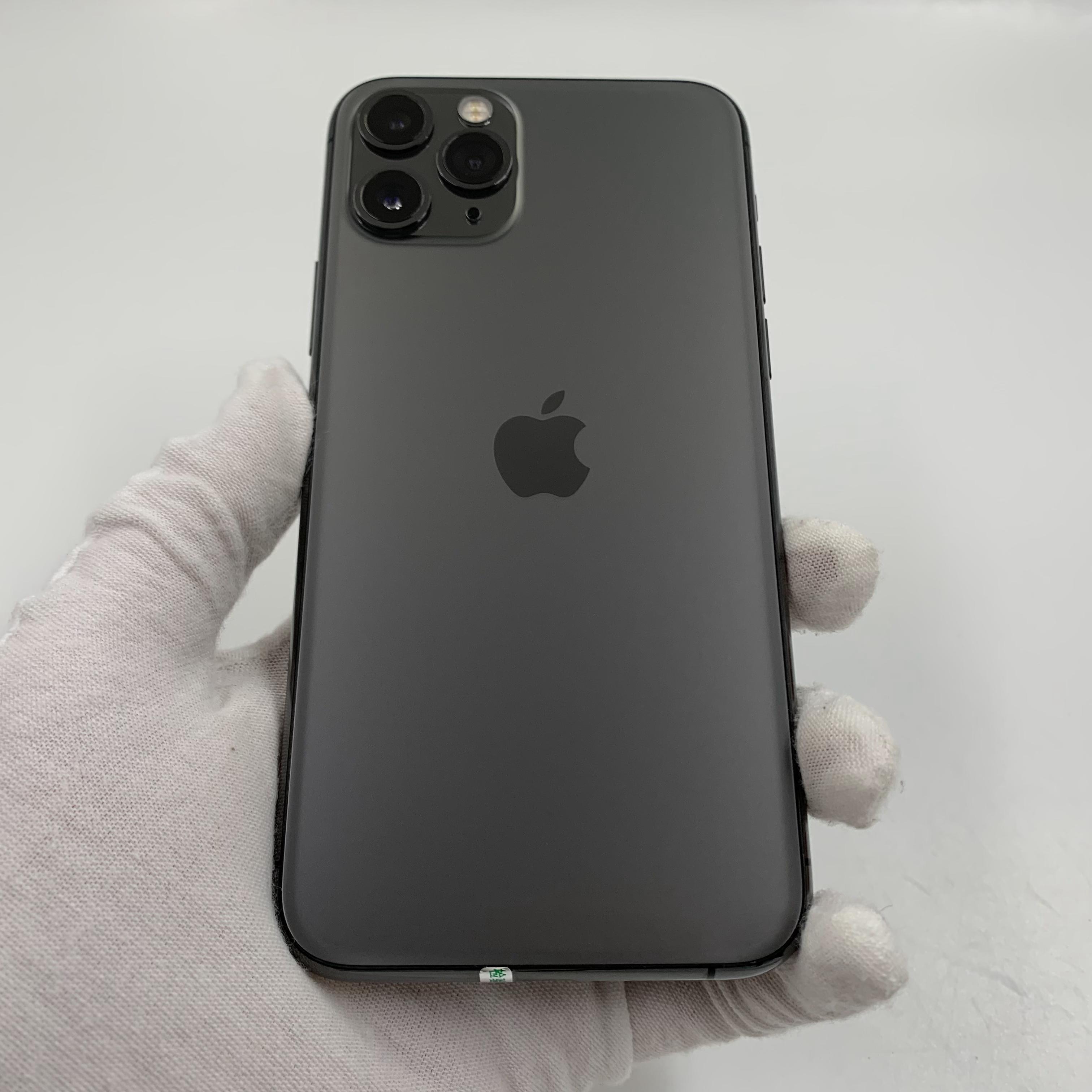 苹果【iPhone 11 Pro】4G全网通 深空灰 64G 国行 8成新 真机实拍