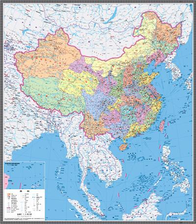 中国地图全图_新版中国地图_360百科