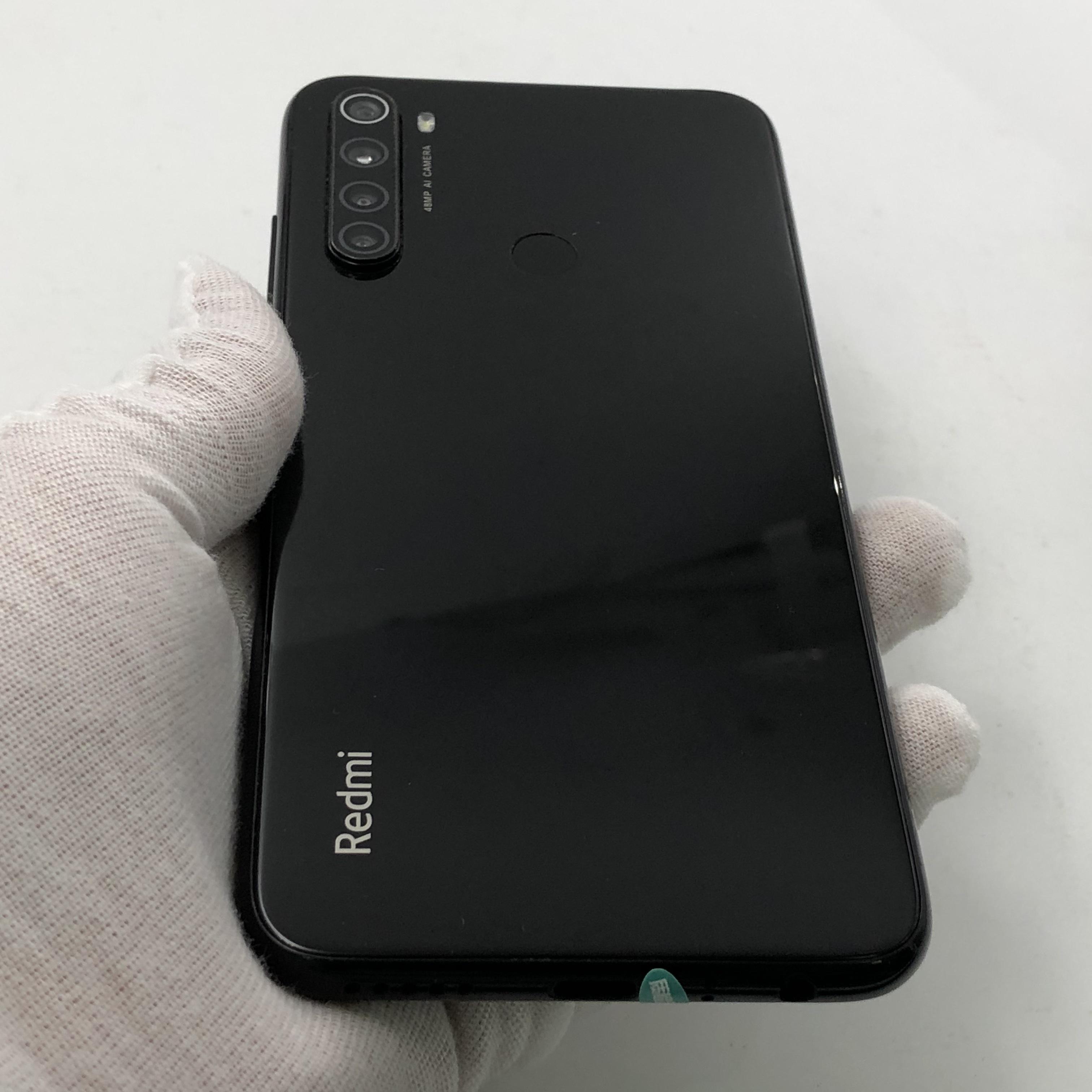 小米【Redmi Note 8】4G全网通 黑色 6G/64G 国行 8成新