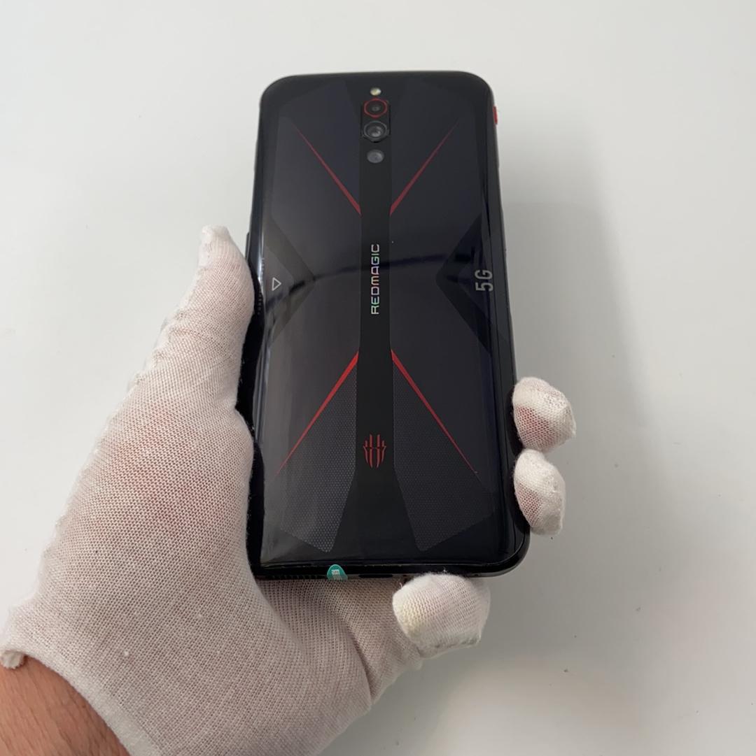 努比亚【红魔5G】5G全网通 骇客黑 12G/256G 国行 8成新