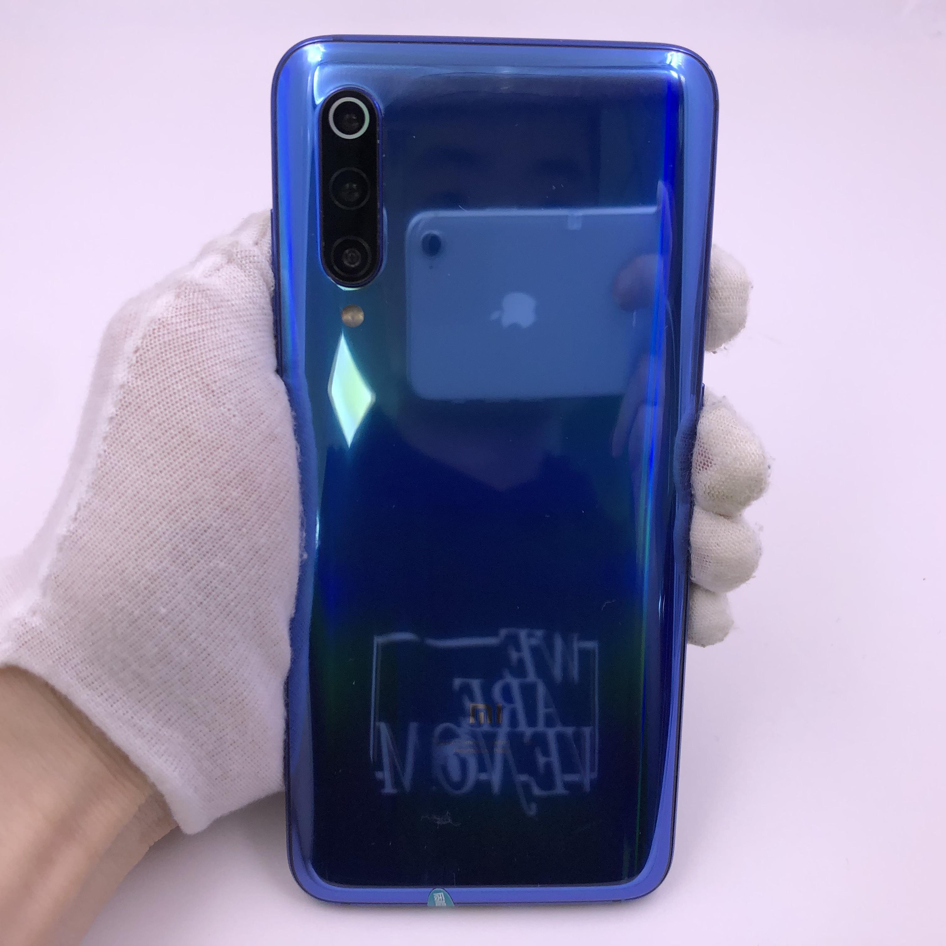小米【小米9】4G全网通 蓝色 8G/256G 国行 8成新