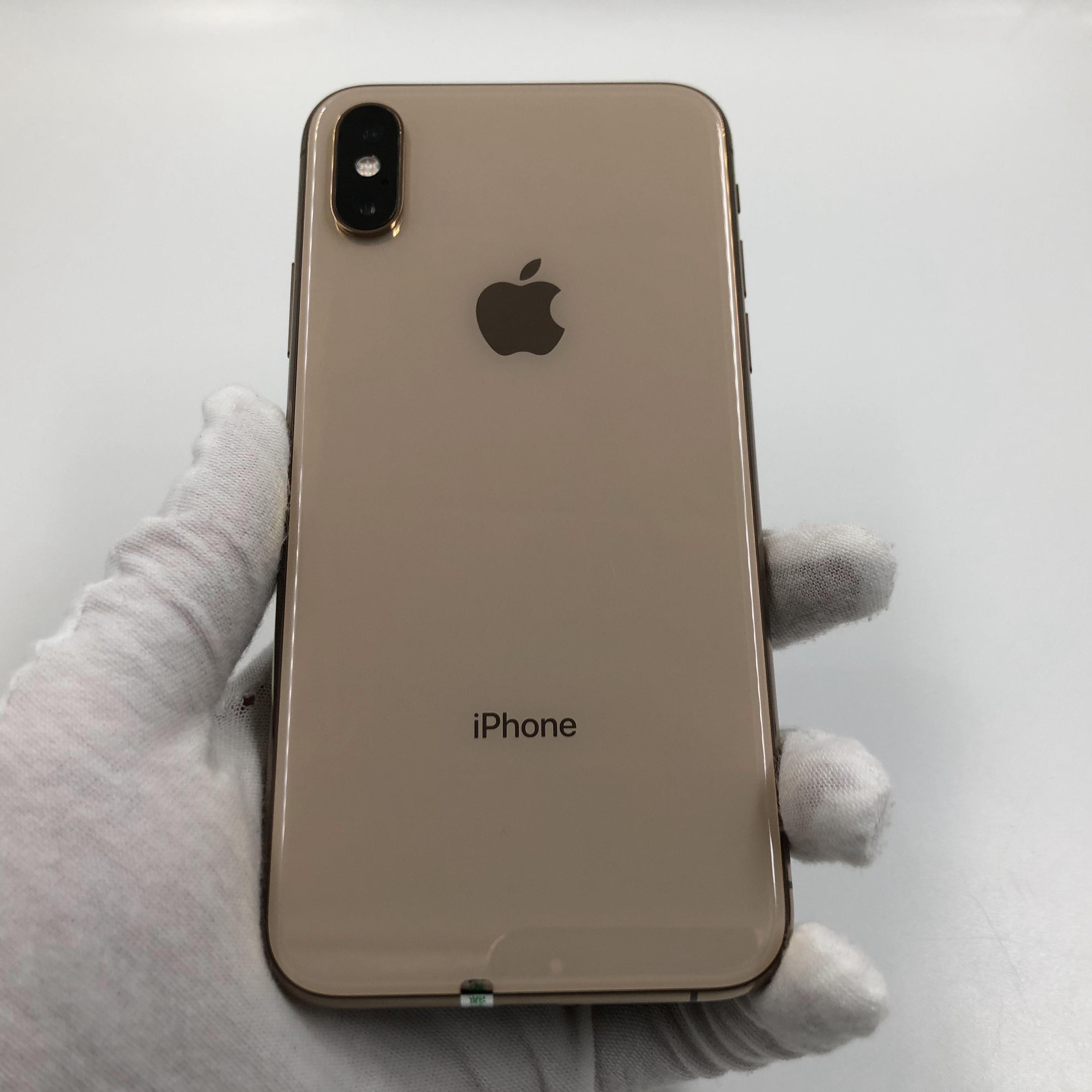 苹果【iPhone Xs】4G全网通 金色 256G 国行 8成新 真机实拍