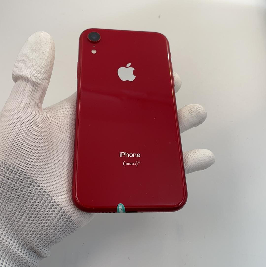 苹果【iPhone XR】4G全网通 红色 64G 国行 9成新