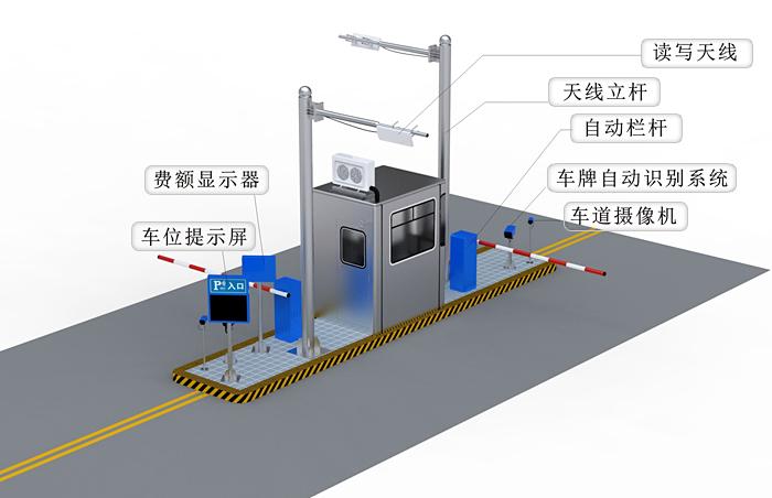 西安智能停车场系统_停车场系统_360百科