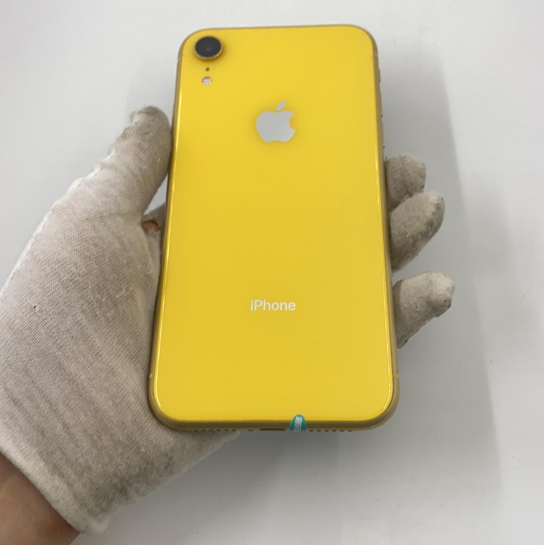 苹果【iPhone XR】4G全网通 黄色 64G 国行 8成新