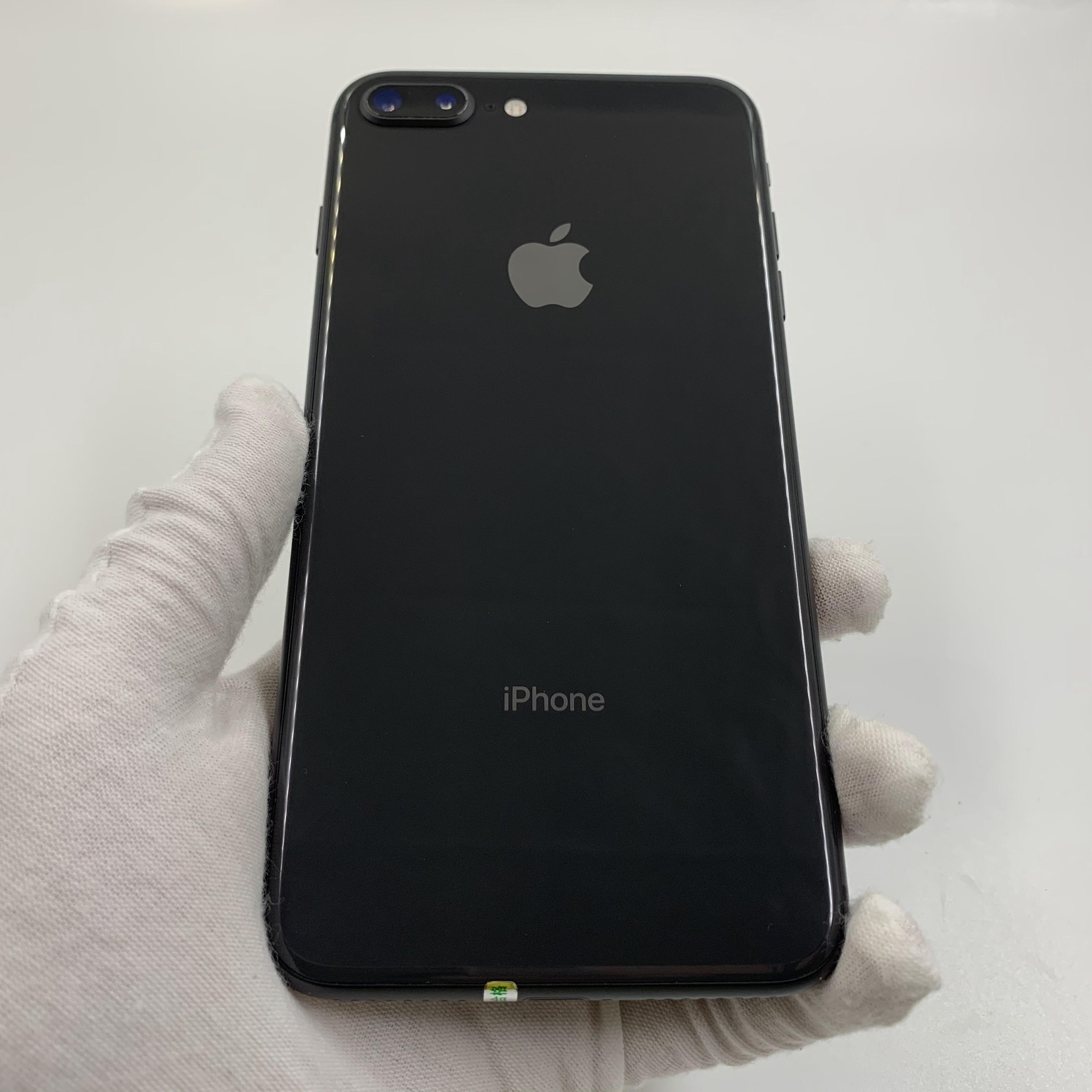 苹果【iPhone 8 Plus】4G全网通 深空灰 64G 国行 95新 真机实拍