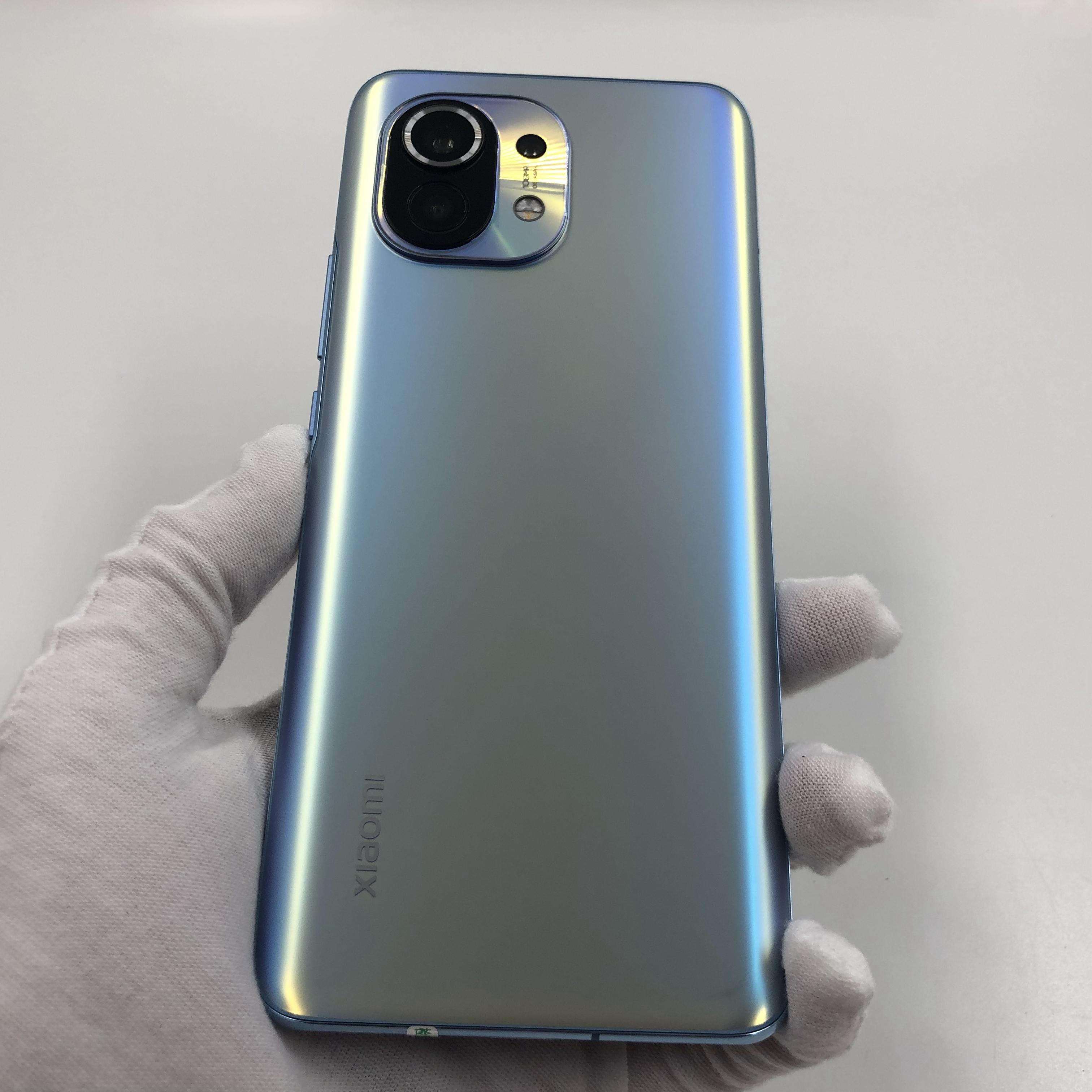 小米【小米11 5G】5G全网通 蓝色 8G/256G 国行 9成新 真机实拍