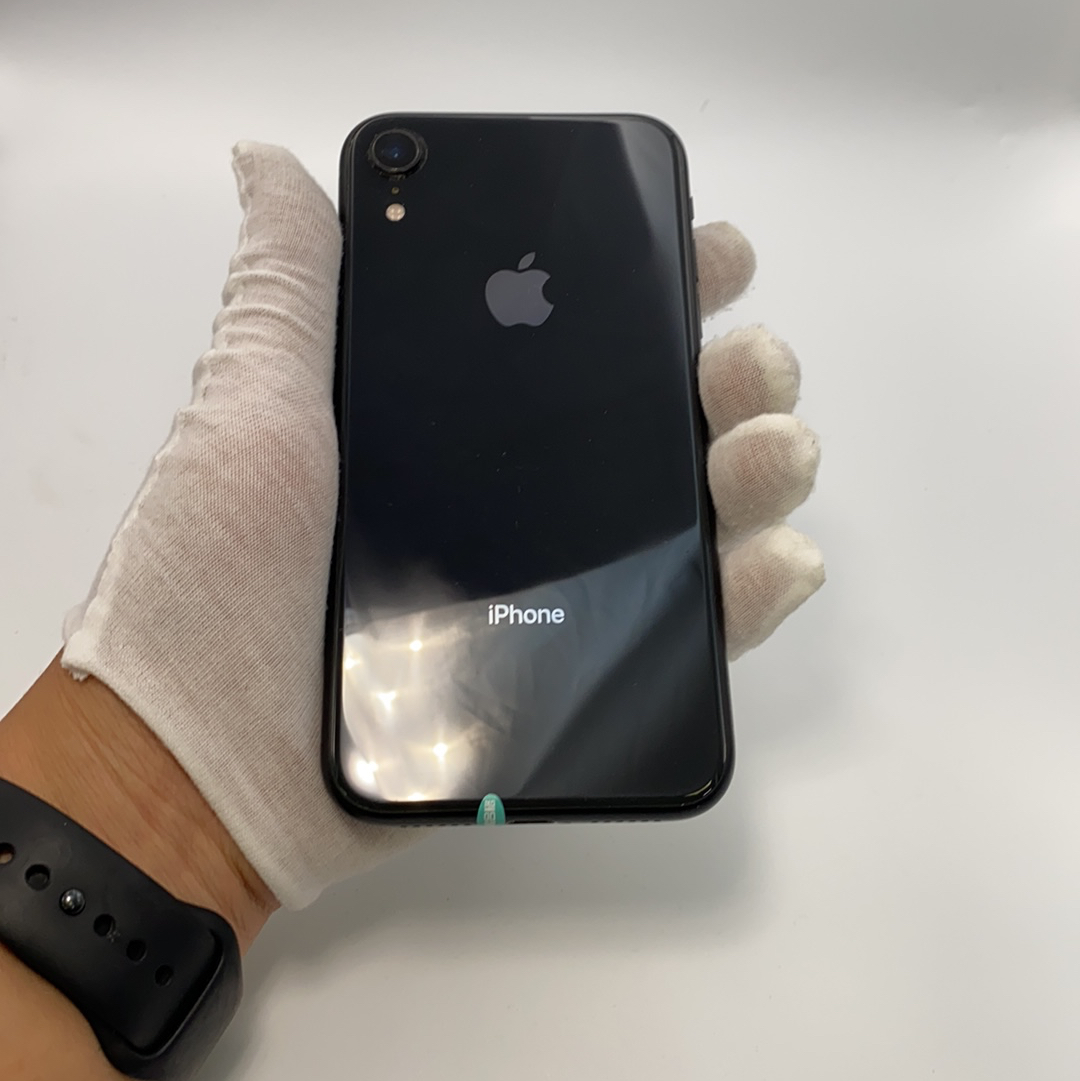 苹果【iPhone XR】4G全网通 黑色 128G 国行 8成新