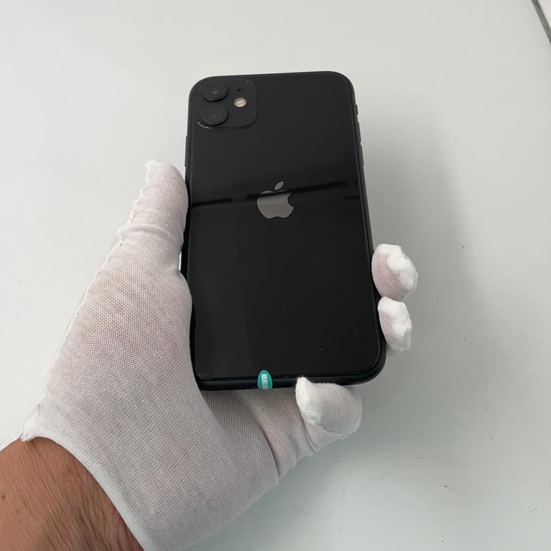 苹果【iPhone 11】4G全网通 黑色 256G 国行 95新