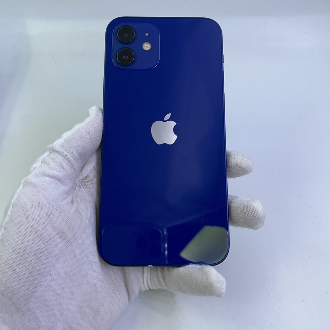 苹果【iPhone 12】5G全网通 蓝色 256G 国行 9成新