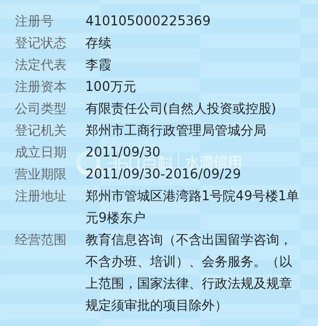 郑州晨智教育信息咨询有限公司