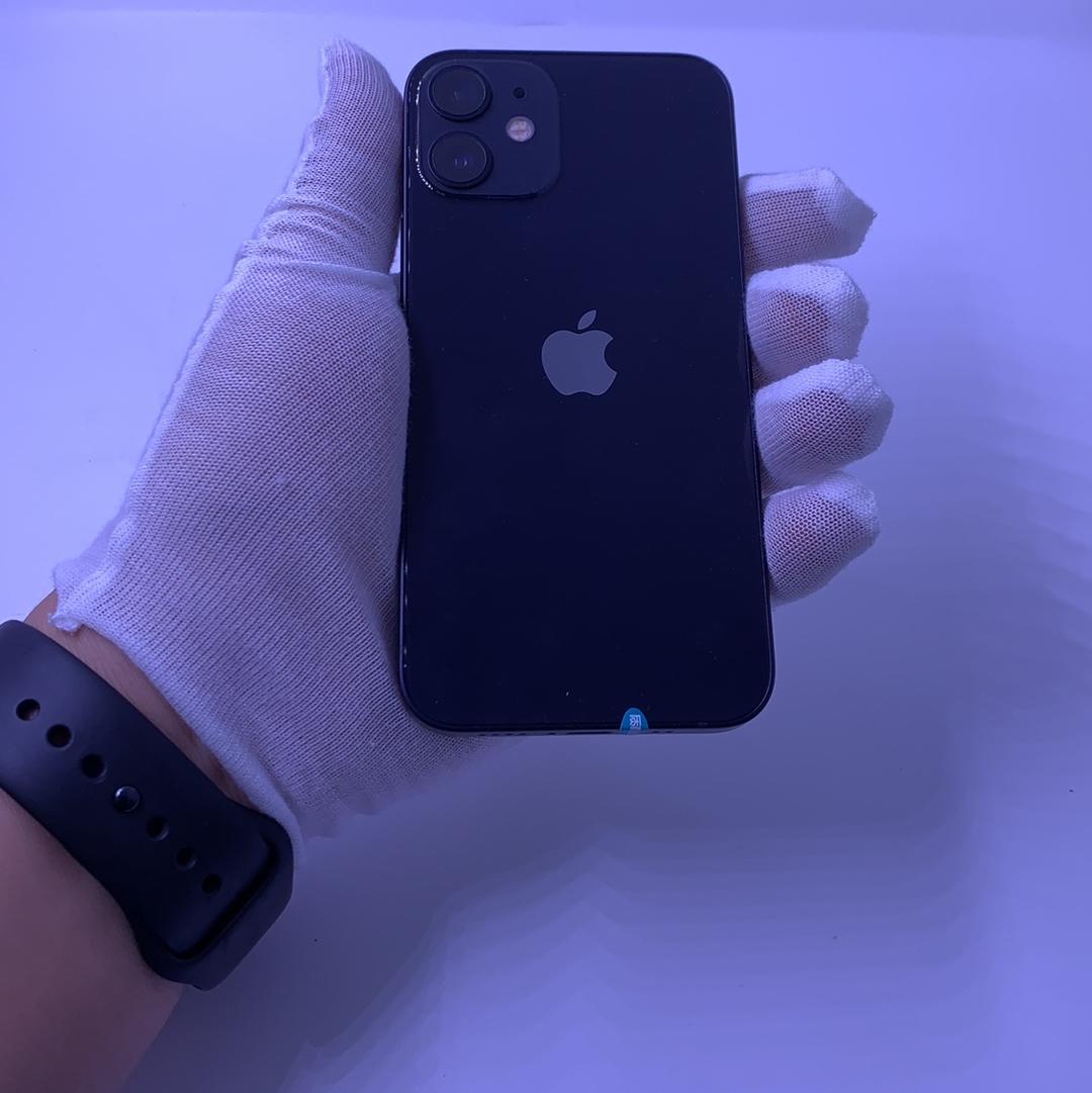 苹果【iPhone 12 mini】5G全网通 黑色 256G 国行 99新