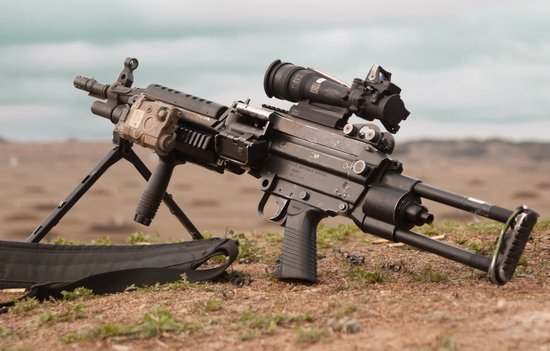 m249轻机枪_M249机枪_360百科