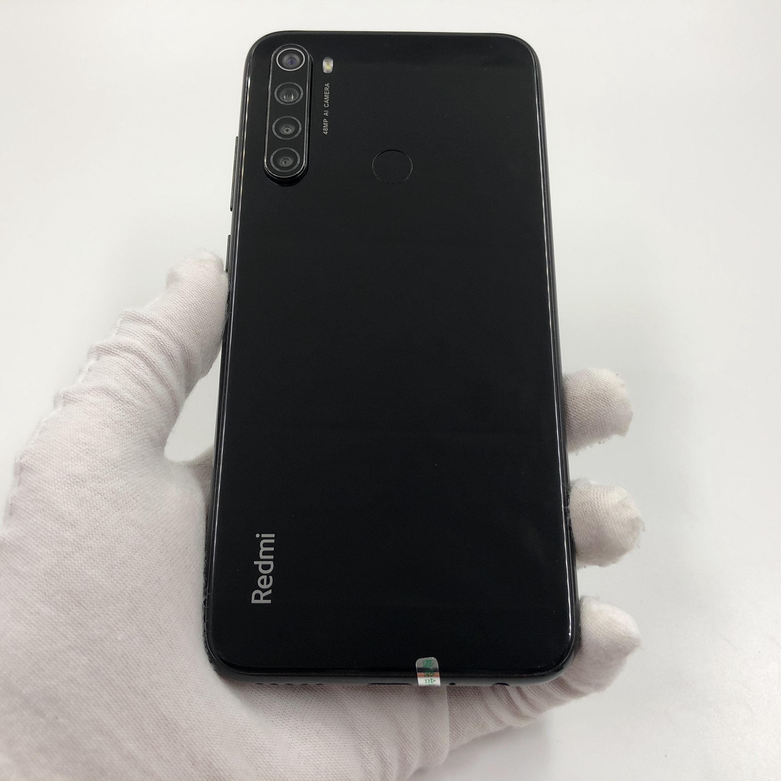 小米【Redmi Note 8】4G全网通 黑色 6G/64G 国行 8成新 真机实拍