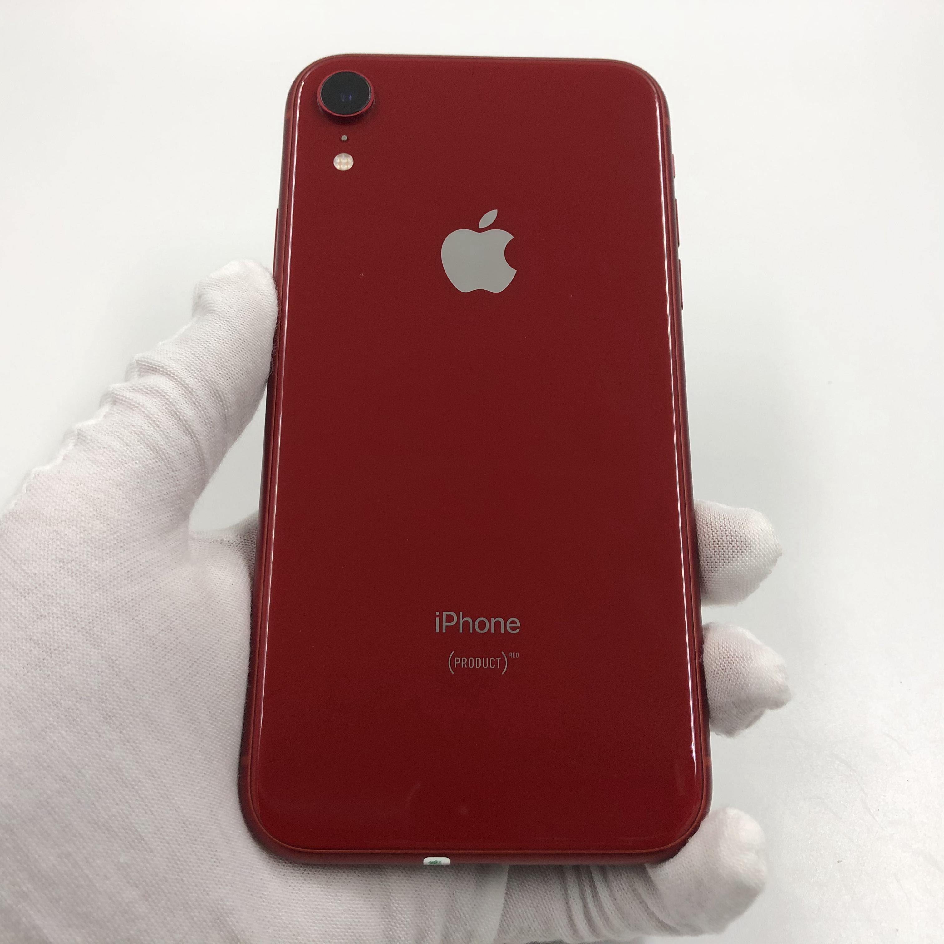苹果【iPhone XR】4G全网通 红色 128G 国行 95新 真机实拍