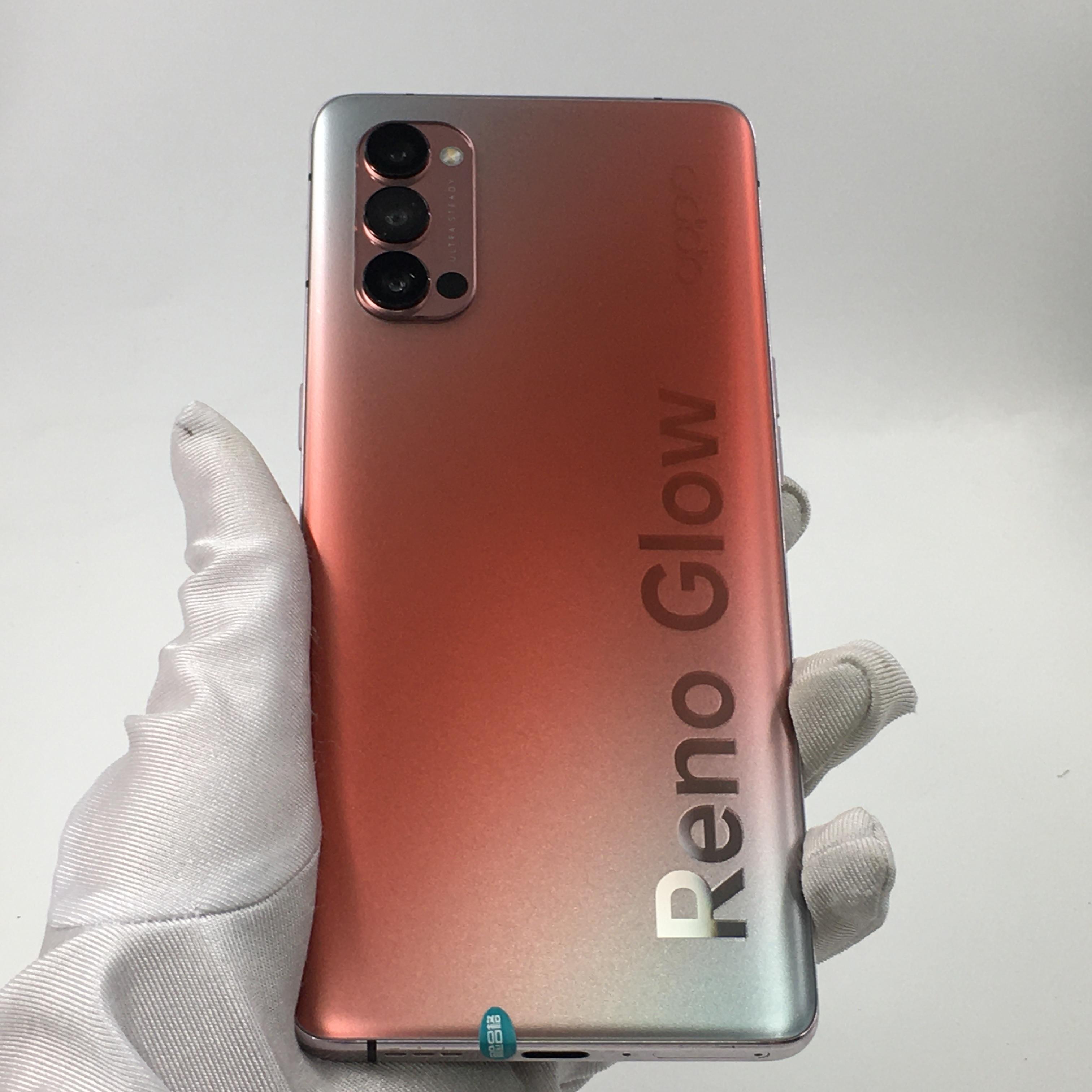 oppo【Reno4 Pro 5G】5G全网通 晶钻红 8G/128G 国行 95新 8G/128G真机实拍