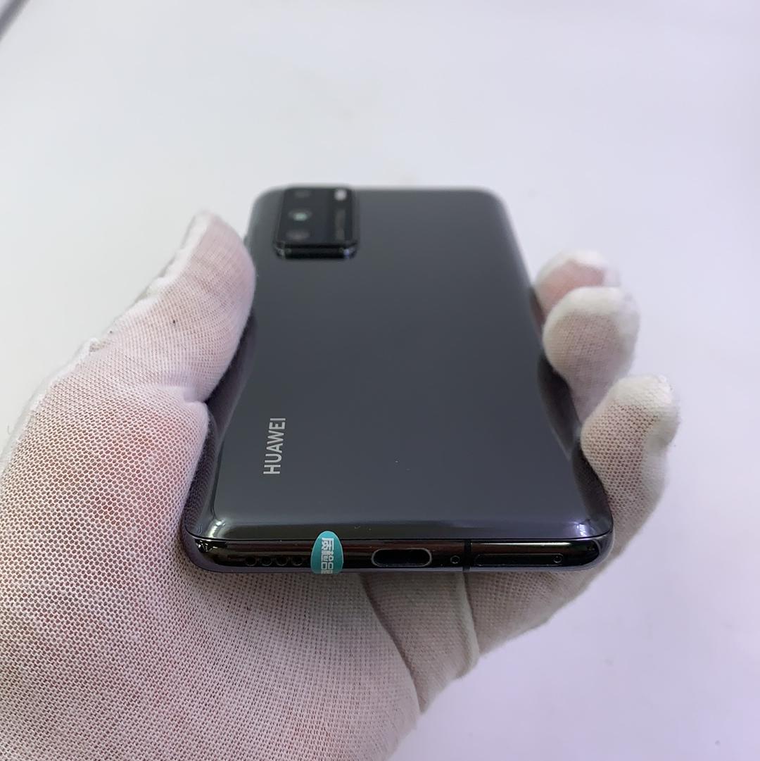 华为【P40 5G】5G全网通 亮黑色 8G/128G 国行 8成新