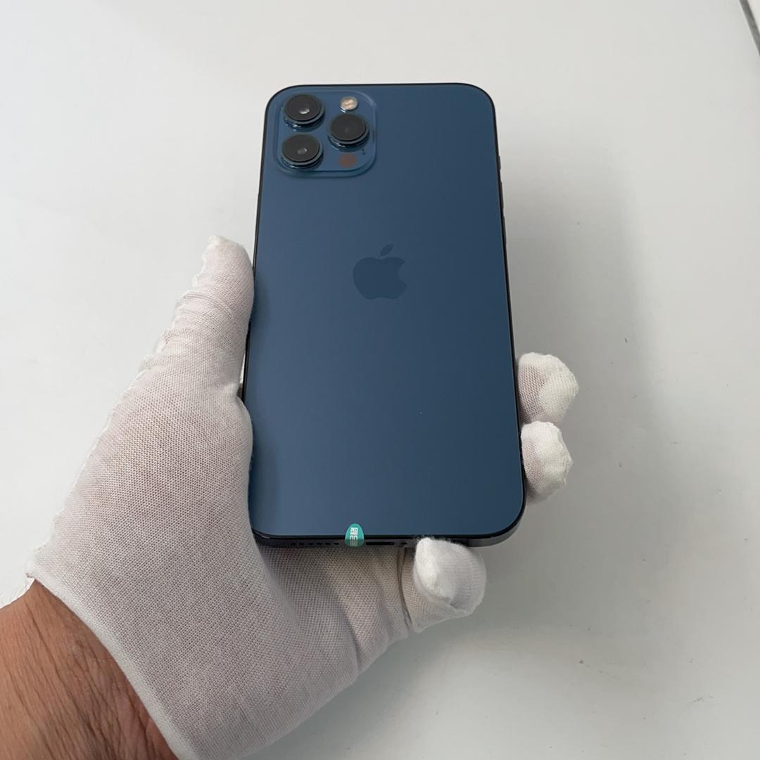 苹果【iPhone 12 Pro Max】4G全网通 海蓝色 256G 国行 95新